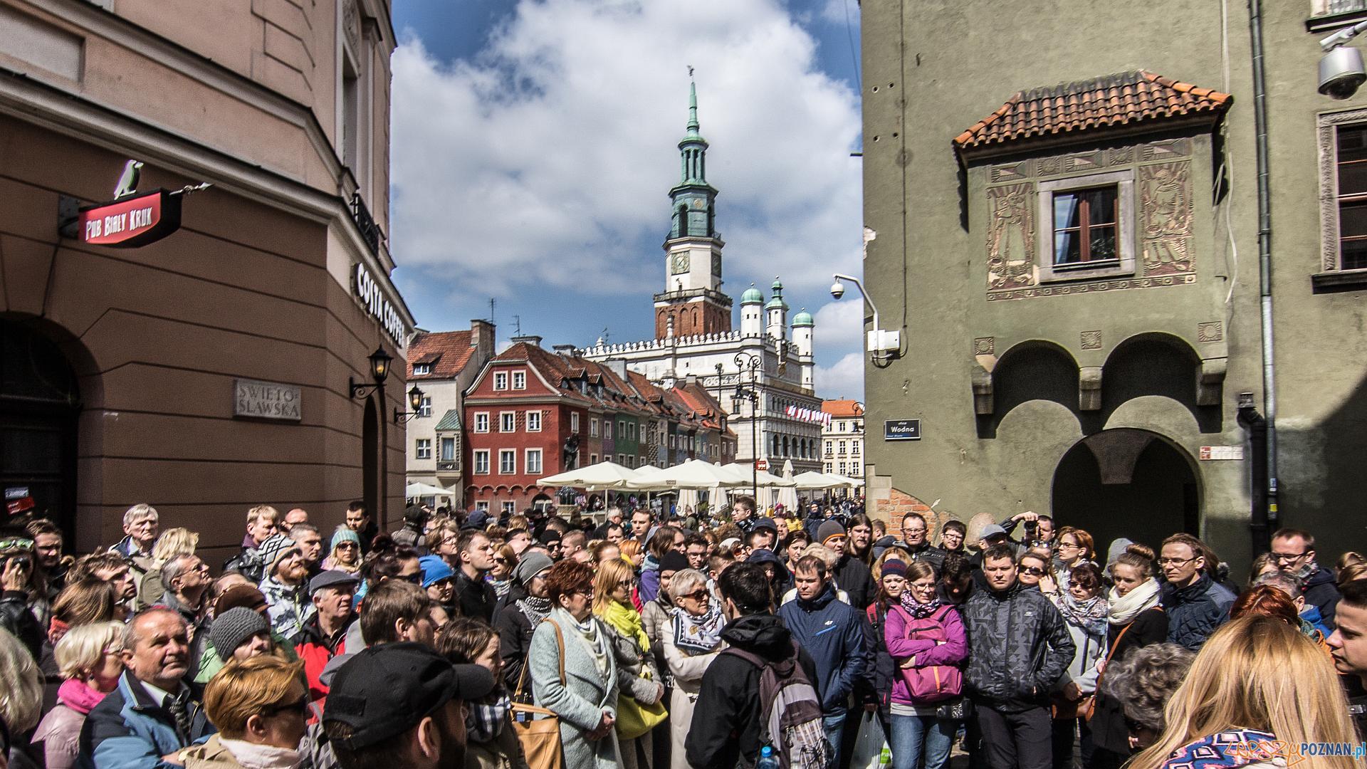 Udany jubileusz akcji Poznań za pół ceny - Stary Rynek  Foto: PLOT / Jakub Pindych