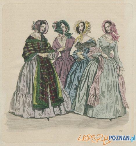 XIX-wieczna moda w zbiorach Biblioteki Raczyńskich  Foto: