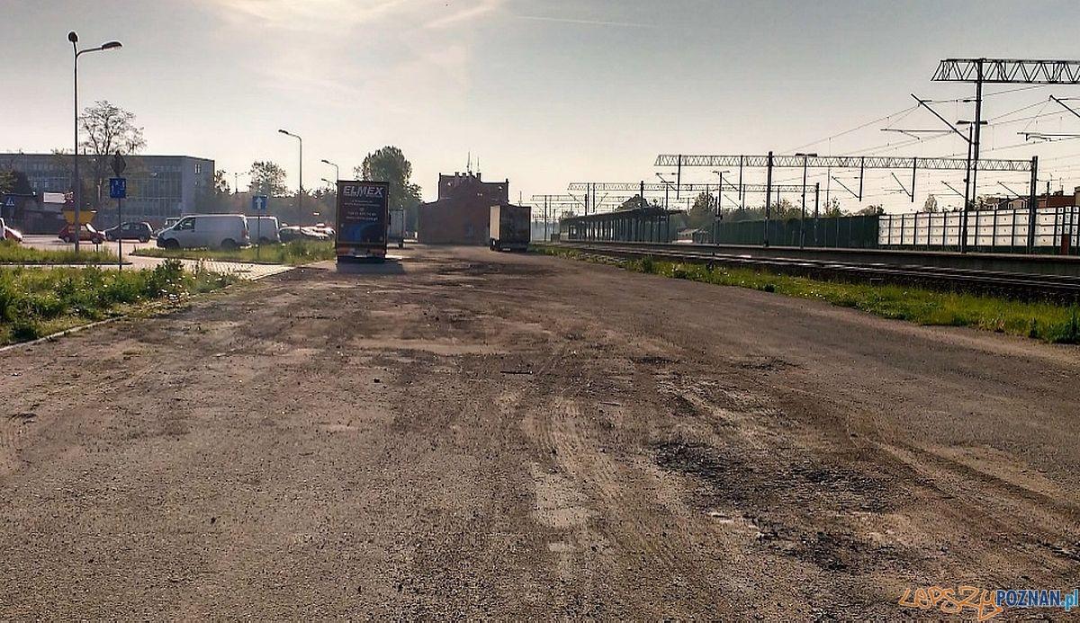 Swarzędz - dworzec PKP - teren inwestucji - budowy węzła przesiadkowego  Foto: UMiG Swarzędz