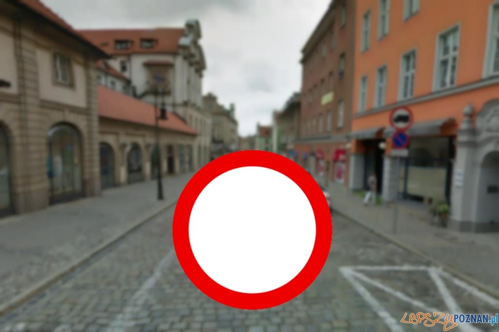 Tutaj wjadą tylko mieszkańcy, taksówki i samochody uprzywilejowane  Foto: Google Street View