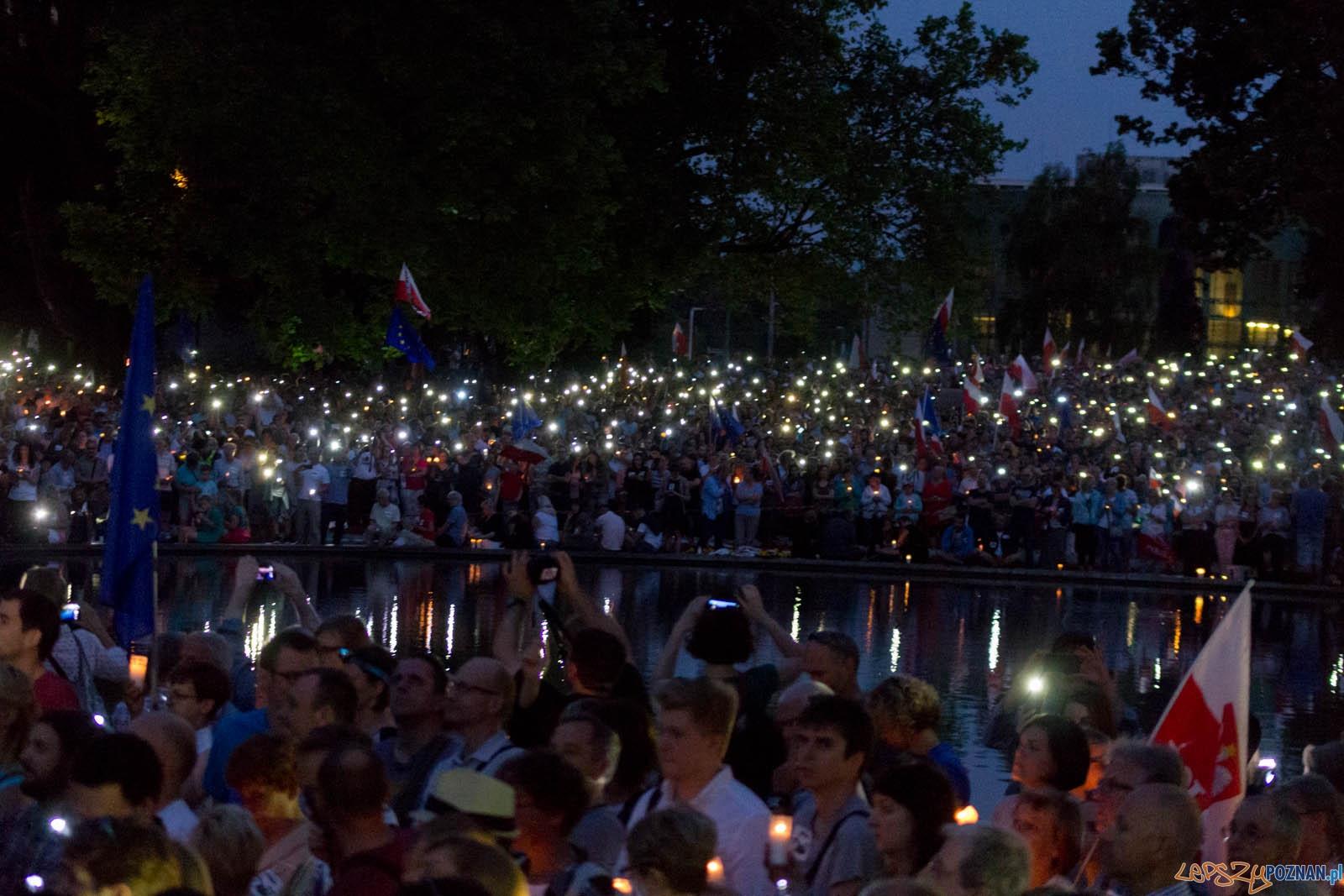 Łańcuch Światła  Foto: lepszyPOZNAN.pl / Ewelina Jaśkowiak