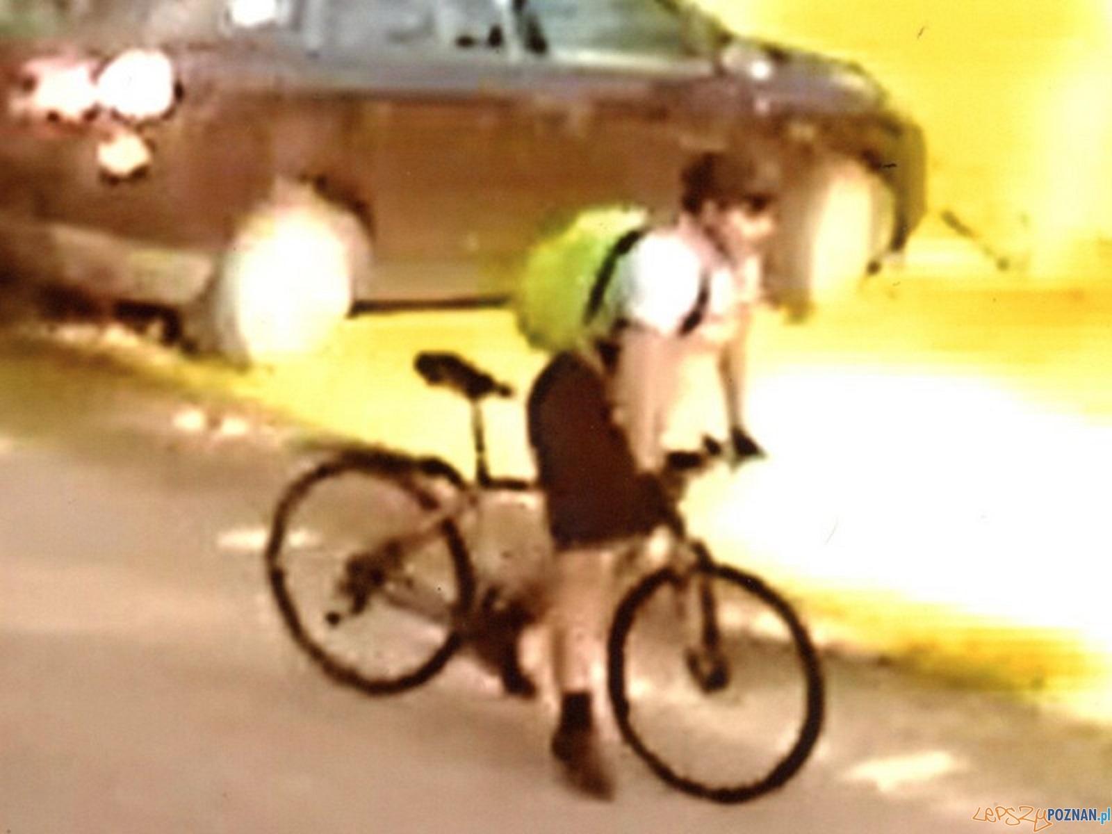 Poszukiwany rowerzysta  Foto: Policja KPPSM