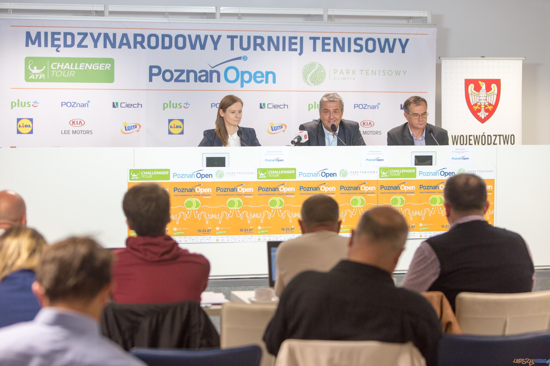 Konferencja przed Poznań Open 2017  Foto: lepszyPOZNAN.pl/Piotr Rychter