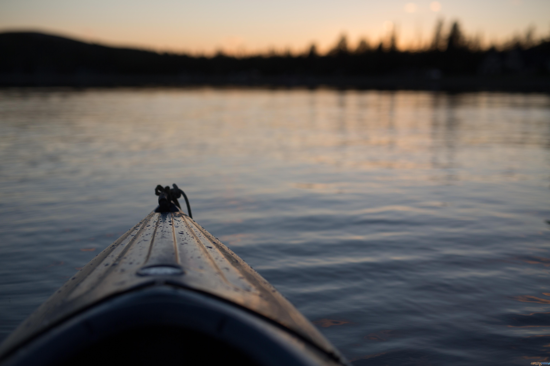Jezioro kajak  Foto: Carl Heyerdahl