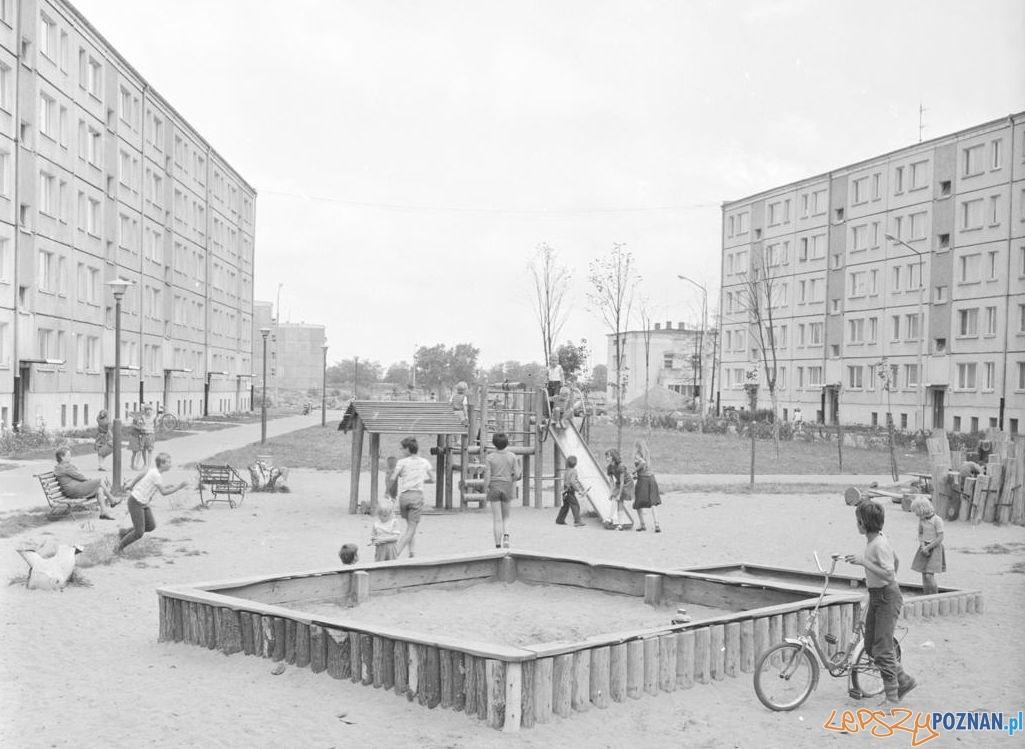 Winogrady - plac zabaw 20.08.1979  Foto: Stanisław Wiktor / Cyryl