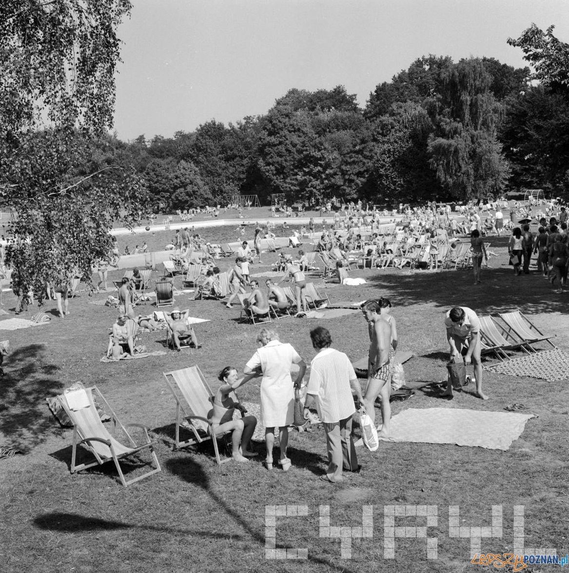 Płwalnia Park Kasprowicza 10.08.1975  Foto: Stanisław Wiktor / Cyryl