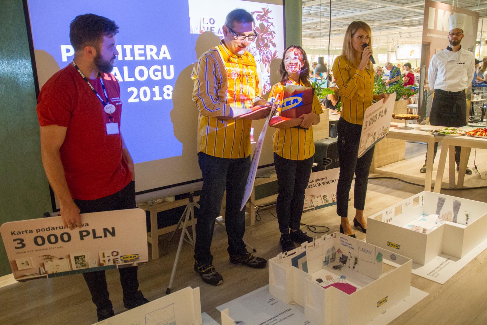 Prezentacja nowego katalogu Ikea 2018 - Poznań 29.08.2017 r.  Foto: © lepszyPOZNAN.pl / Karolina Kiraga