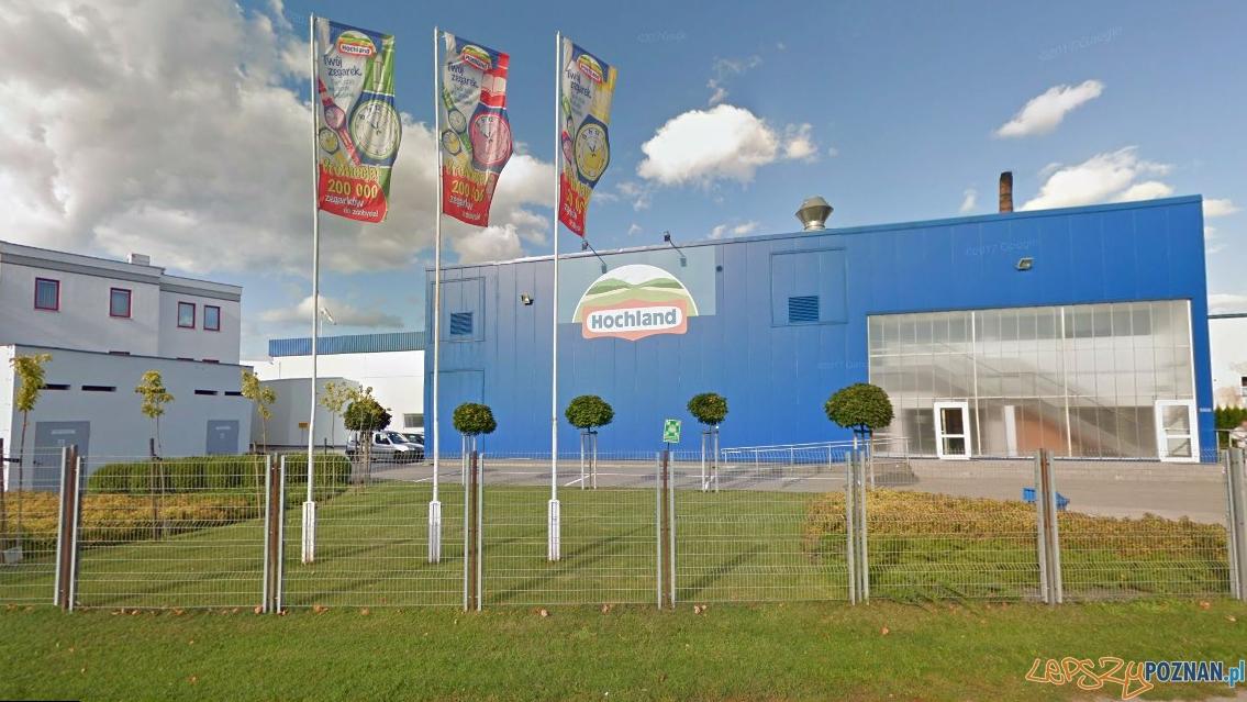 Zakłady Hochland w Kaźmierzu  Foto: Google Street View