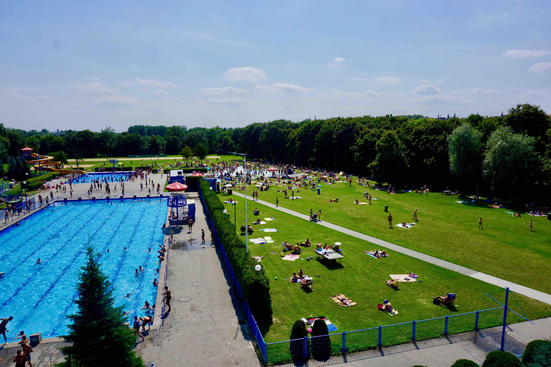 Letnie baseny na Chwiałce  Foto:
