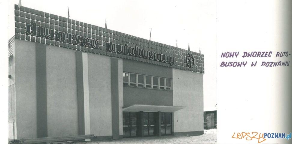 Dworzec PKS (1965) - nowy budynek  Foto: Archiwum PKS