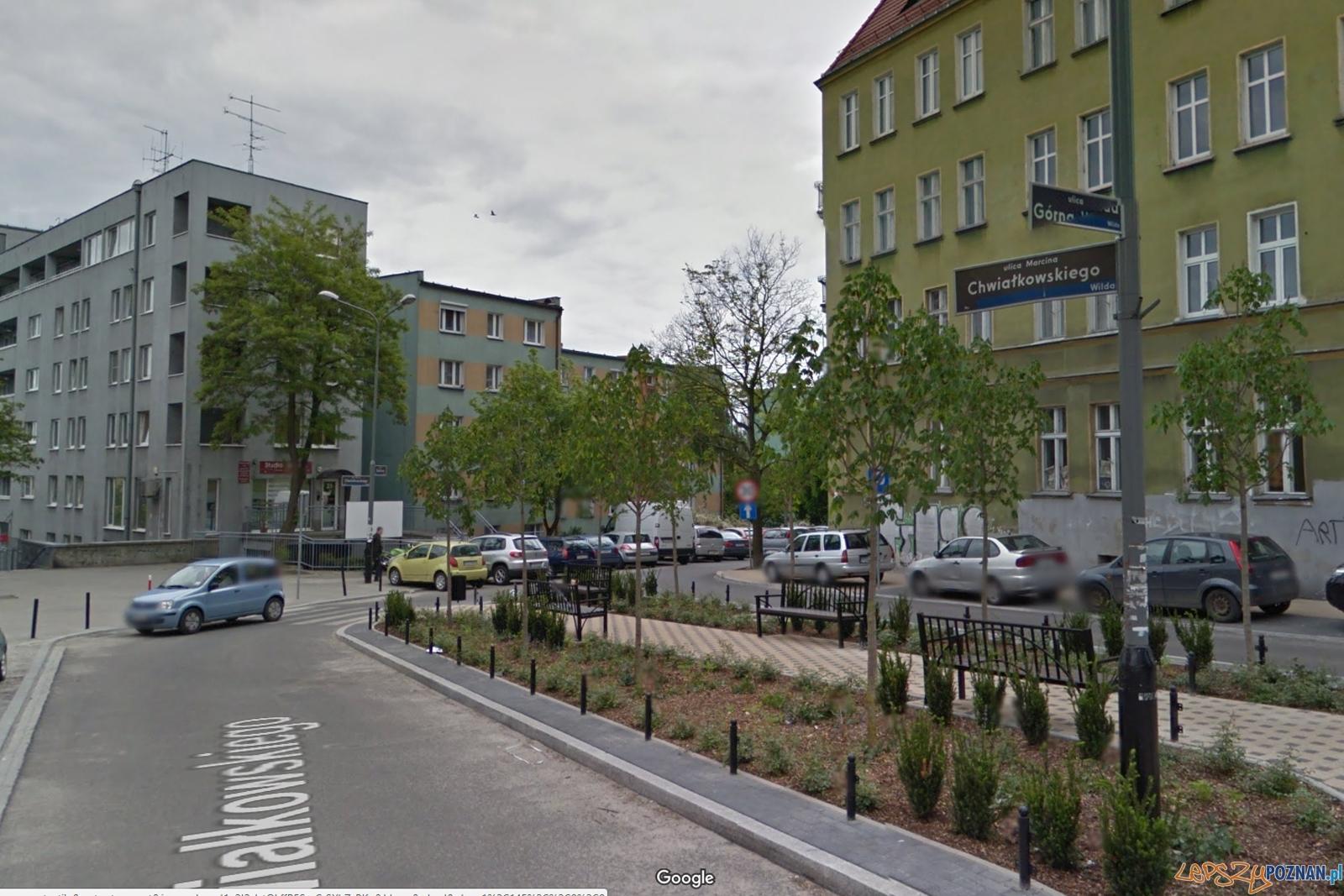 ulica Marcina Chwialkowskiego  Foto: Google Maps