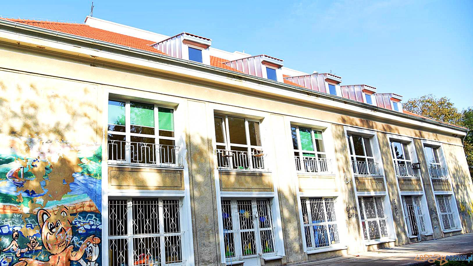 Gzuby wracają do swojego odbudowanego przedszkola  Foto: UMP