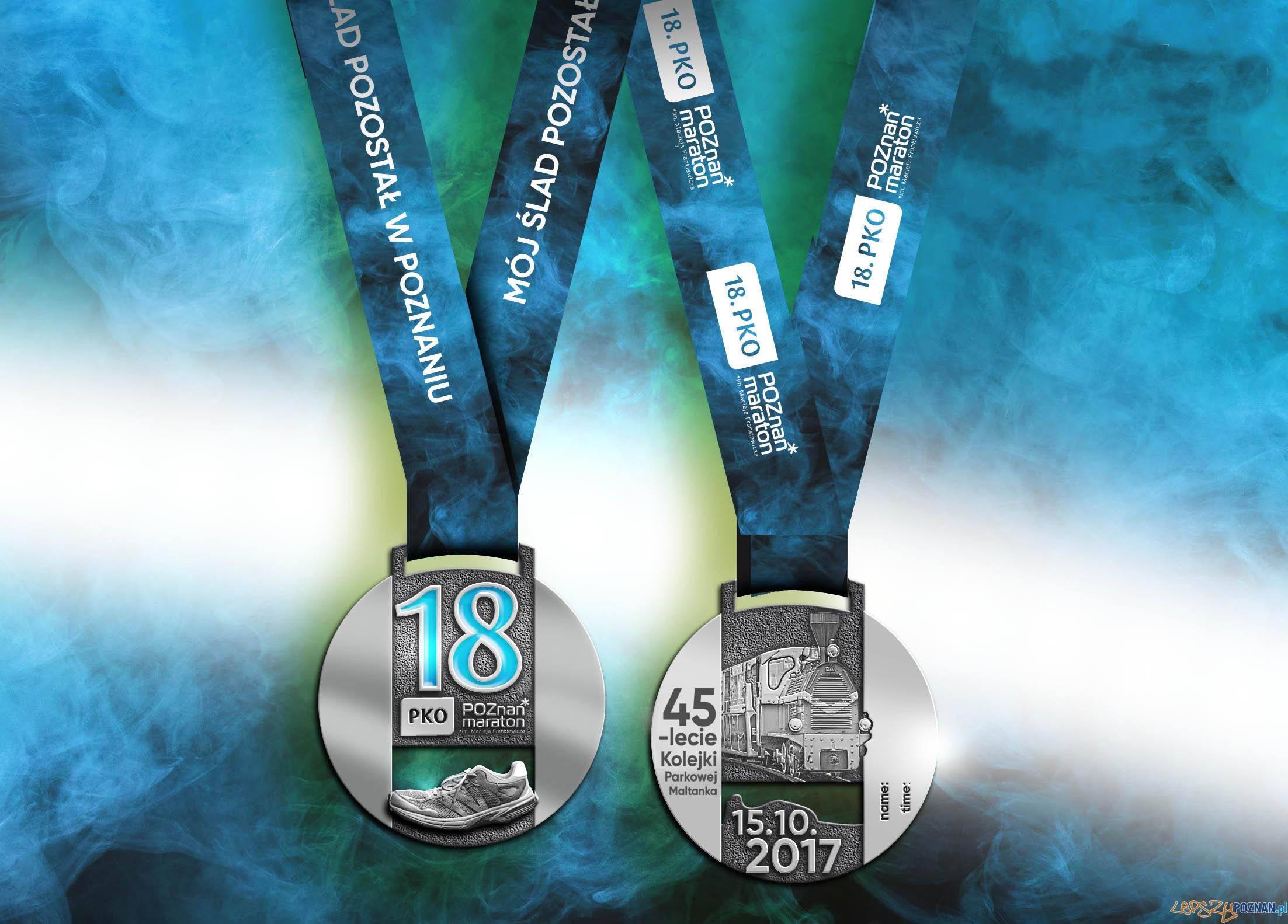 Medal 18 .PKO Poznań Maraton  Foto: materiały prasowe