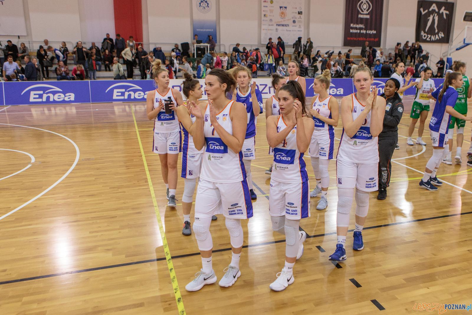 Ekstraklasa: Enea AZS Poznań - Pszczółka Polski-Cukier 54:77  Foto: LepszyPOZNAN.pl / Paweł Rychter