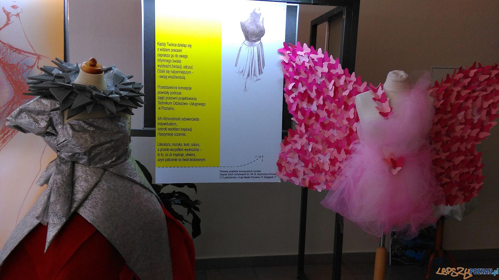 Wystawa młodych kreatorów mody w UMP (1)  Foto: TD