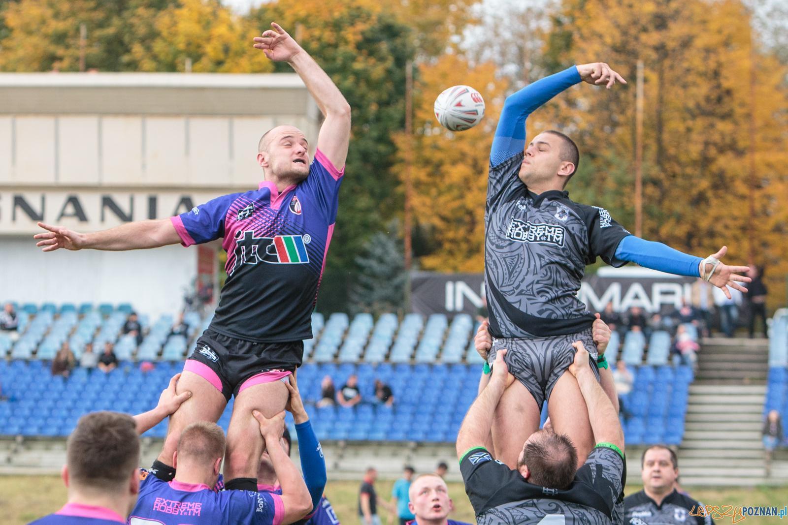 Rugby: Posnania Poznań - Chaos Poznań 27:20 - 15.10.2017 r.  Foto: LepszyPOZNAN.pl / Paweł Rychter