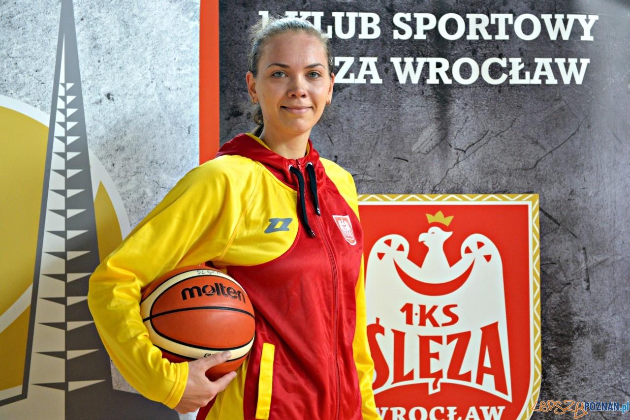 Kateryna Rymarenko koszykarką Enea AZS Poznań  Foto: materiały prasowe / Ślęza Wrocław