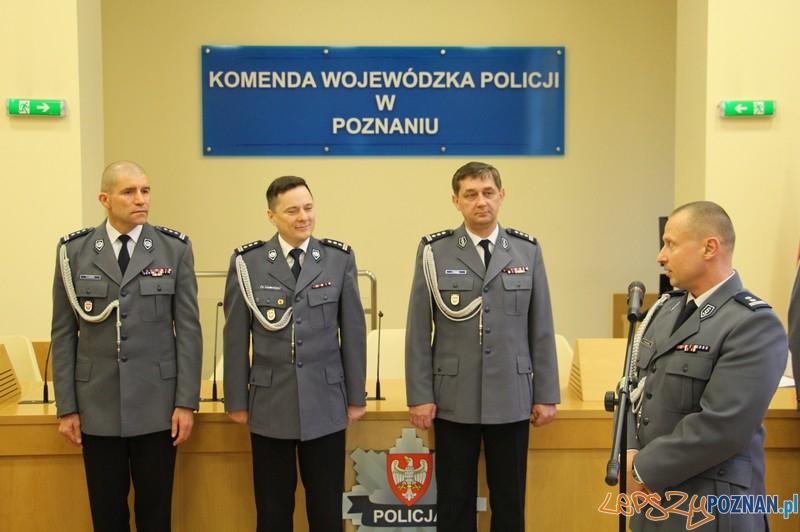 UROCZYSTE POWOŁANIE NA STANOWISKA  Foto: KWP  w Poznaniu