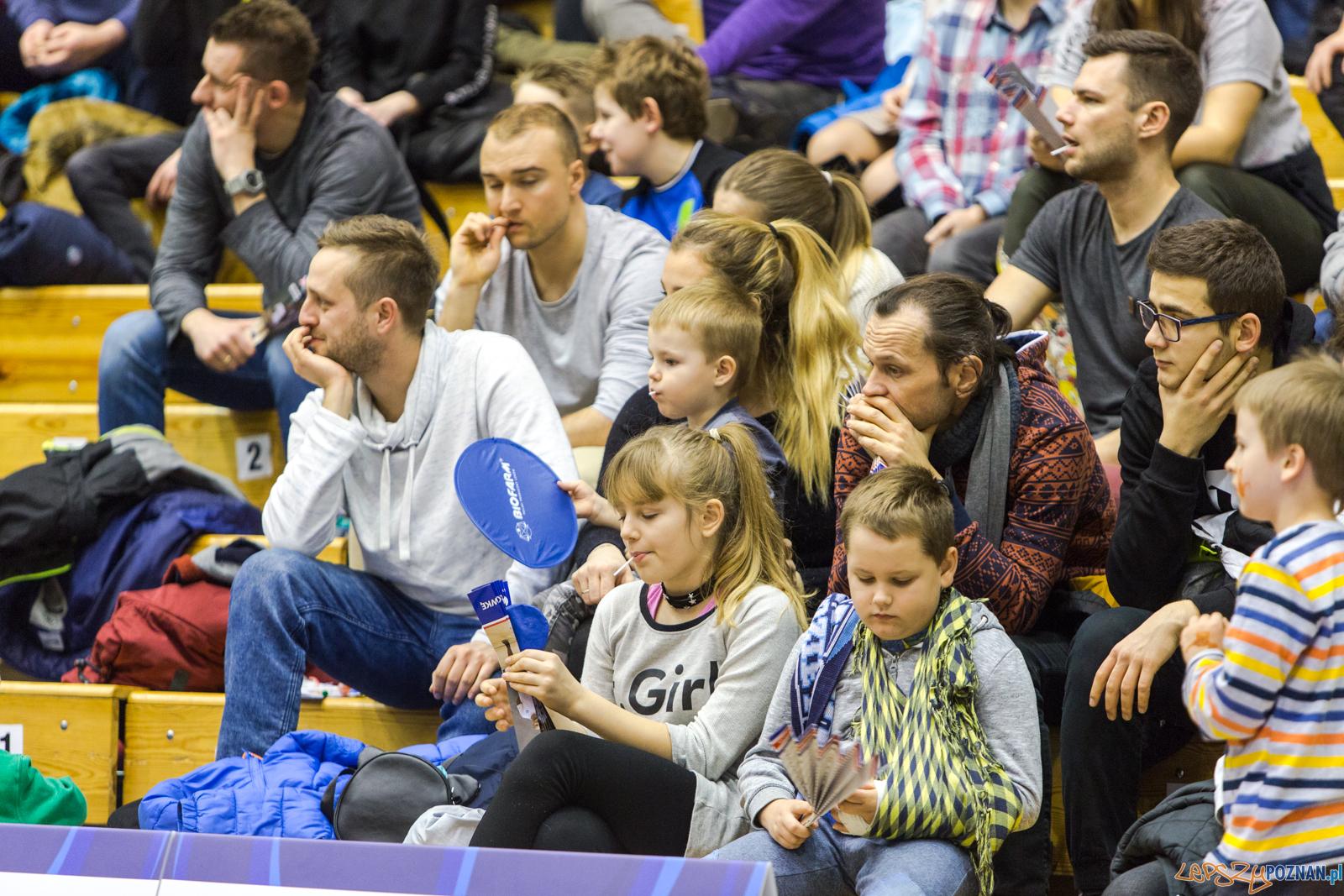 Biofarm Basket - KK Warszawa 86:82 - Poznań 02.12.2017 r.  Foto: LepszyPOZNAN.pl / Paweł Rychter