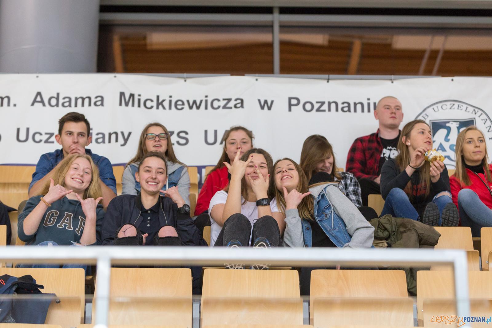 AZS UAM Poznań - AZS UW Warszawa  Foto: lepszyPOZNAN.pl/Piotr Rychter