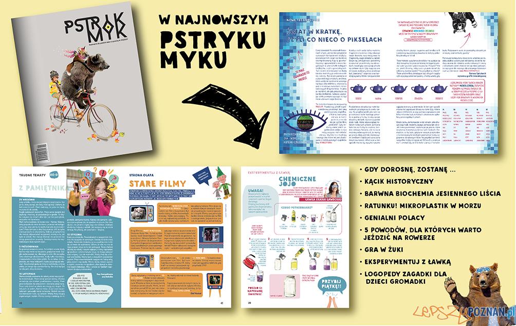 PSTRYK MYK  Foto: materiały prasowe