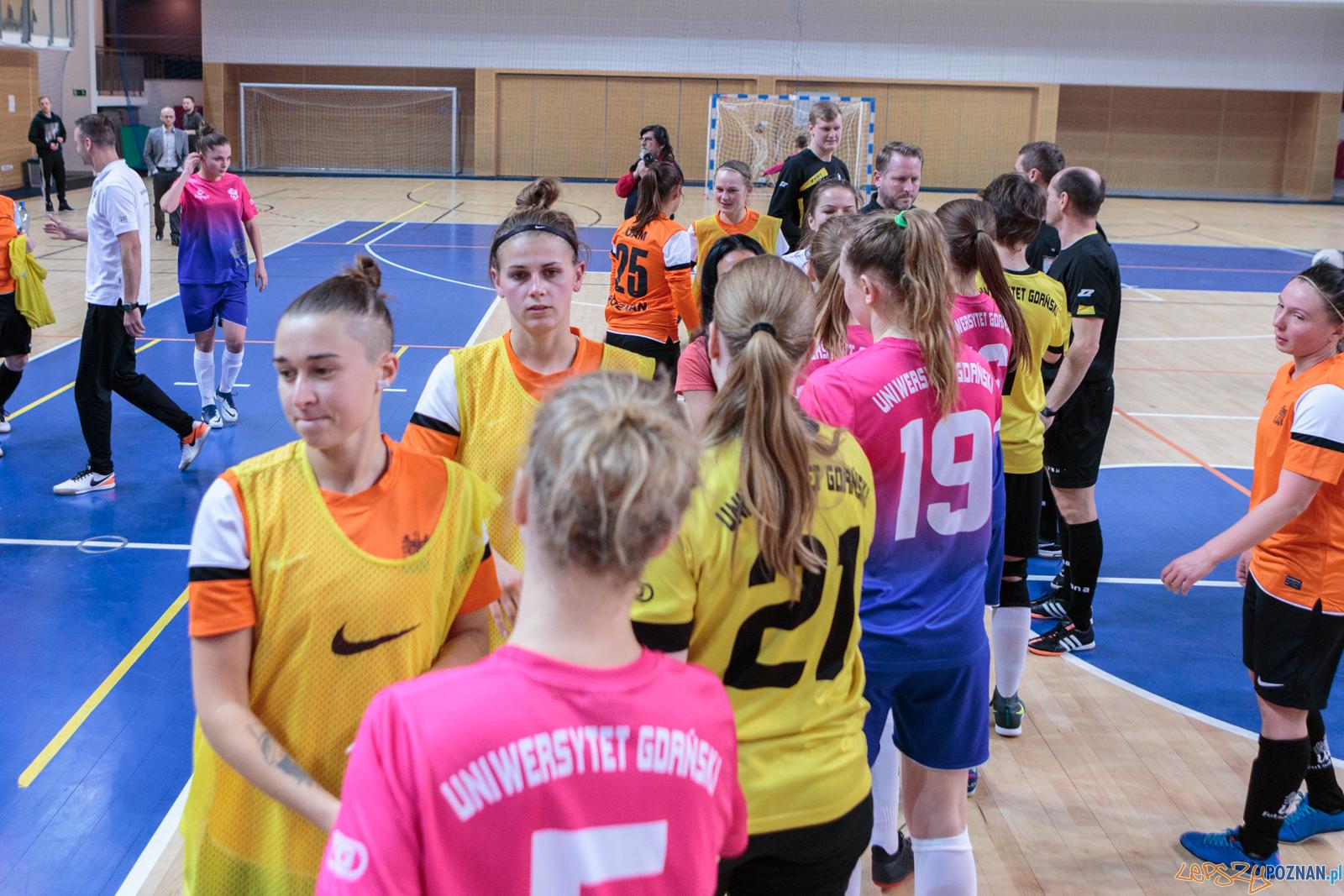 AZS UAM Poznań - AZS UG Gdańsk 2:1 - 16.12.2017 r.  Foto: LepszyPOZNAN.pl / Paweł Rychter