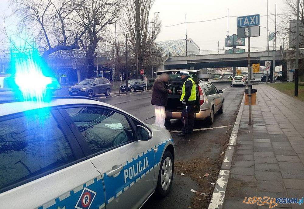 Policja kontroluje taksówki  Foto: materiałiy policyjne