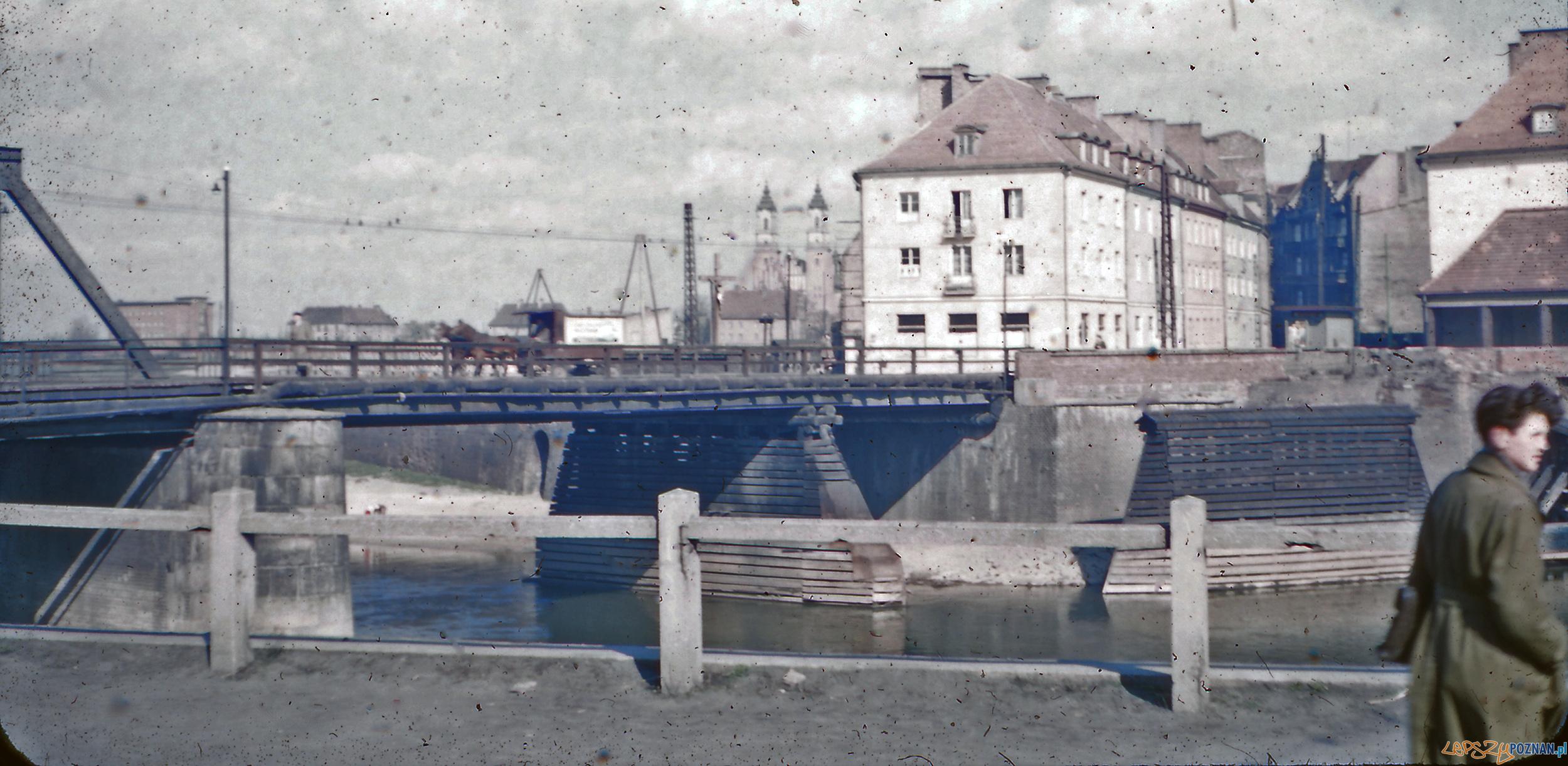 Most Chwaliszewski - koniec lat 50-tych  Foto: Mogens Tørsleff, kolekcja Gorma Rudschinata / Flickr / CC