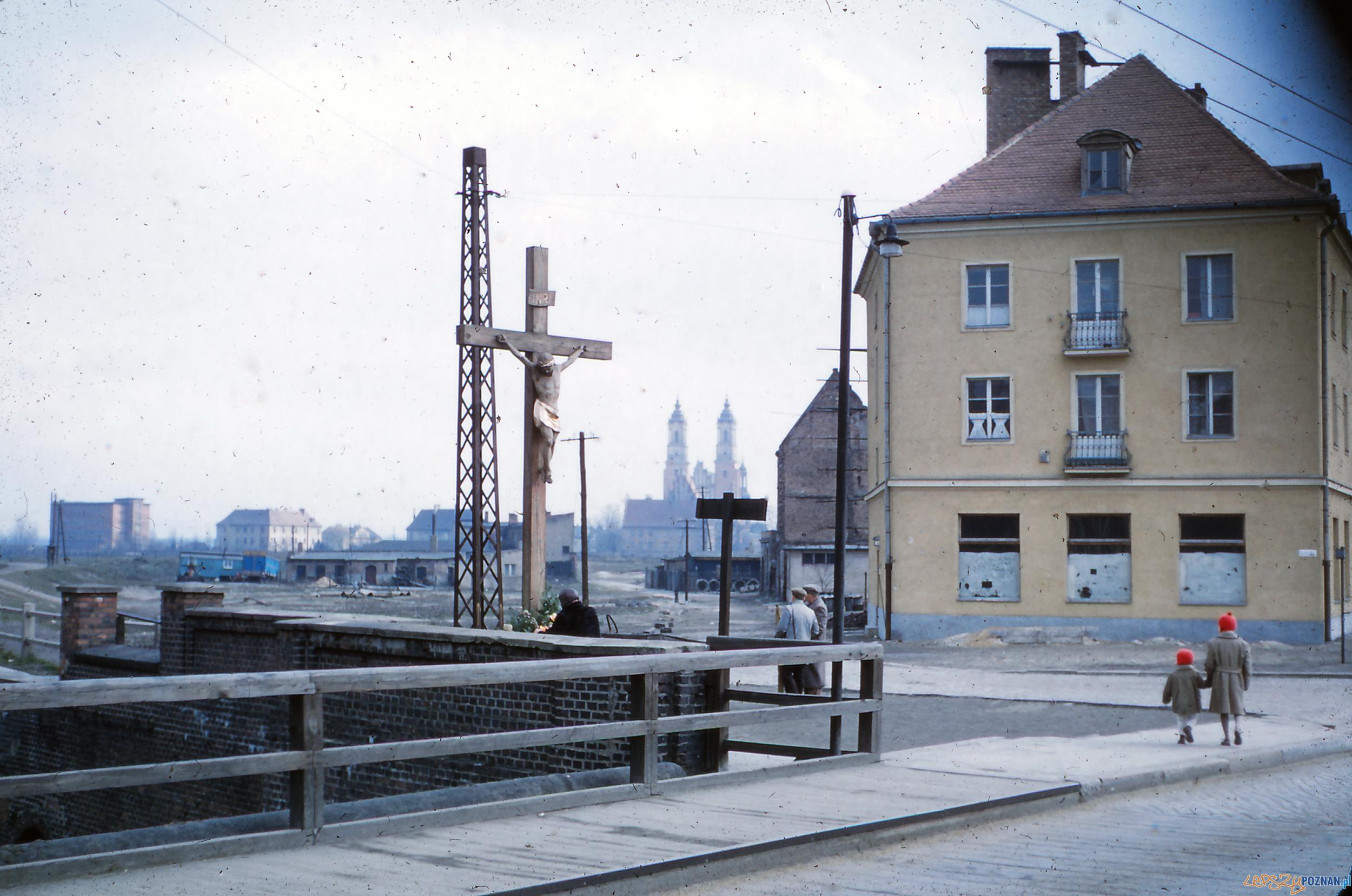 Chwaliszewo - koniec lat 50-tych  Foto: Mogens Tørsleff, kolekcja Gorma Rudschinata / Flickr / CC