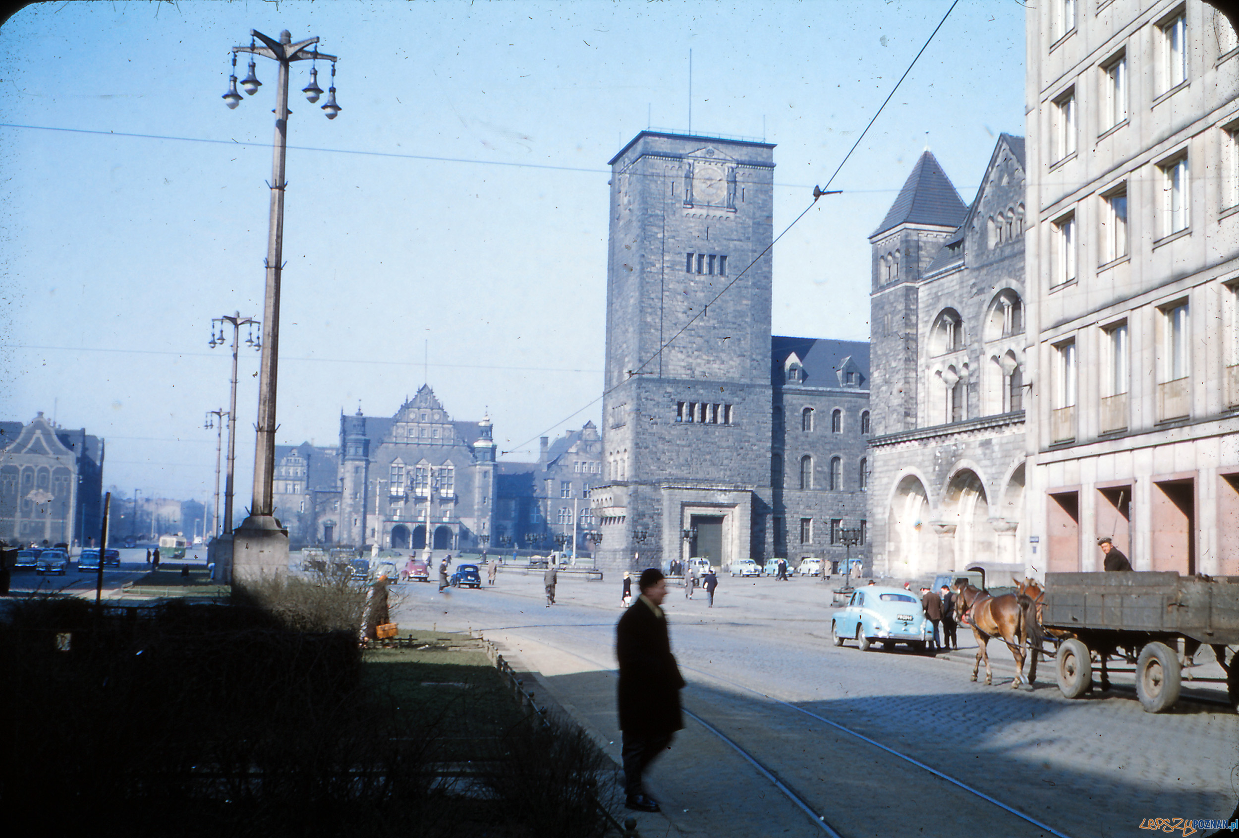 Święty Marcin - koniec lat 50-tych  Foto: Mogens Tørsleff, kolekcja Gorma Rudschinata / Flickr / CC