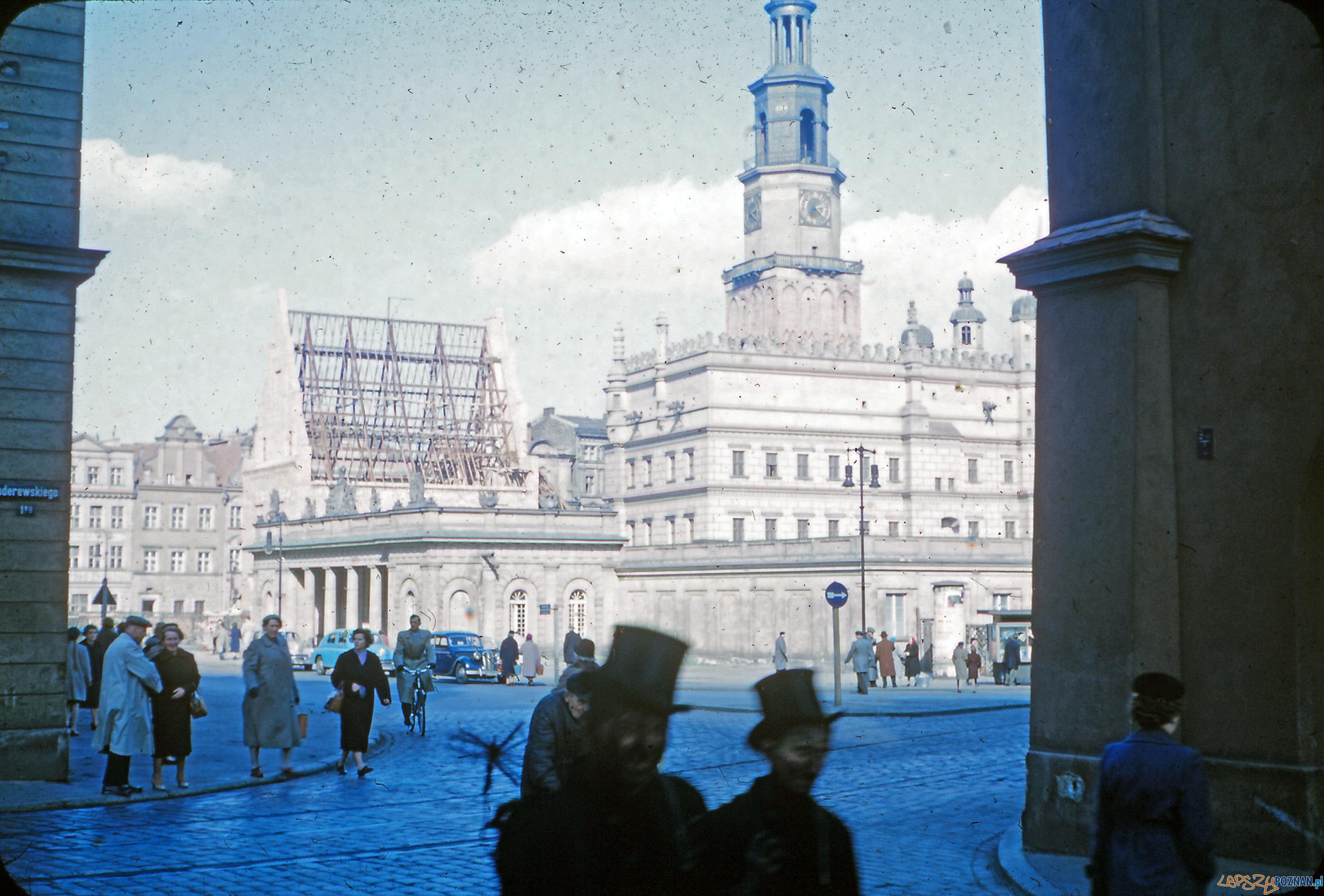 Stary Rynek - koniec lat 50-tych  Foto: Mogens Tørsleff, kolekcja Gorma Rudschinata / Flickr / CC