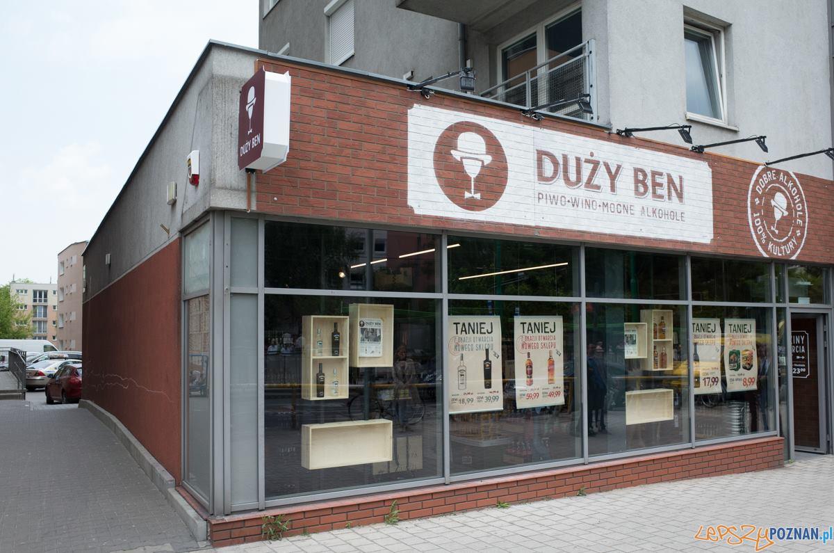 Sklep Duży Ben w Poznaniu  Foto: Duży Ben / Patryk Wisniewski