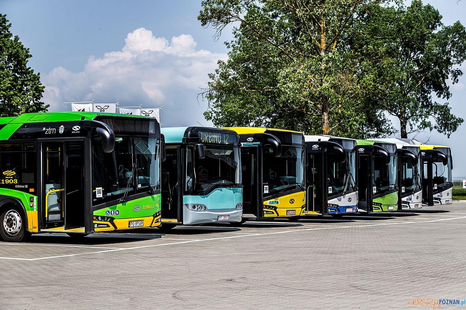 Solaris - flota pojazdów  Foto: amjphotography.pl / Solaris - materiały prasowe