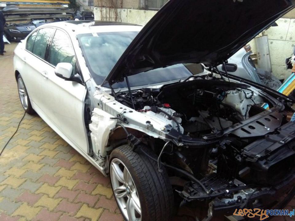 Samochód skradziony w Niemczech odnaleziony w Poznaniu  Foto: KMP w Poznaniu