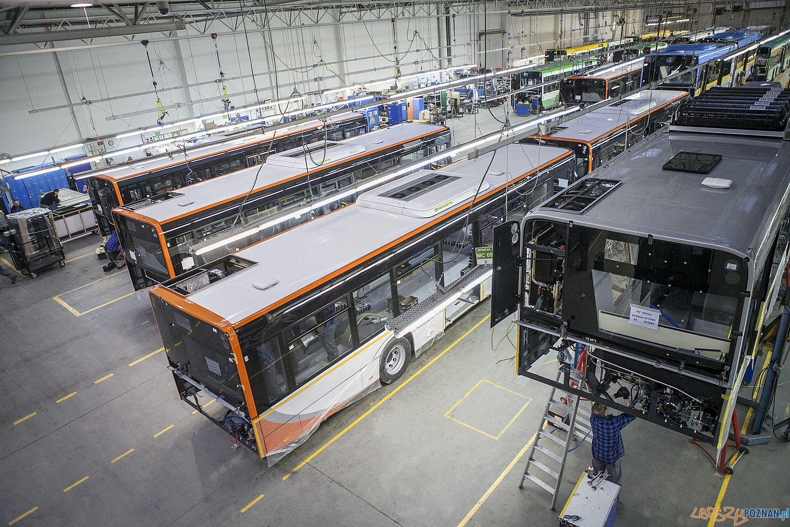 Solaris - Fabryka Bolechowo, montaż autobusów  Foto: amjphotography.pl / Solaris - materiały prasowe