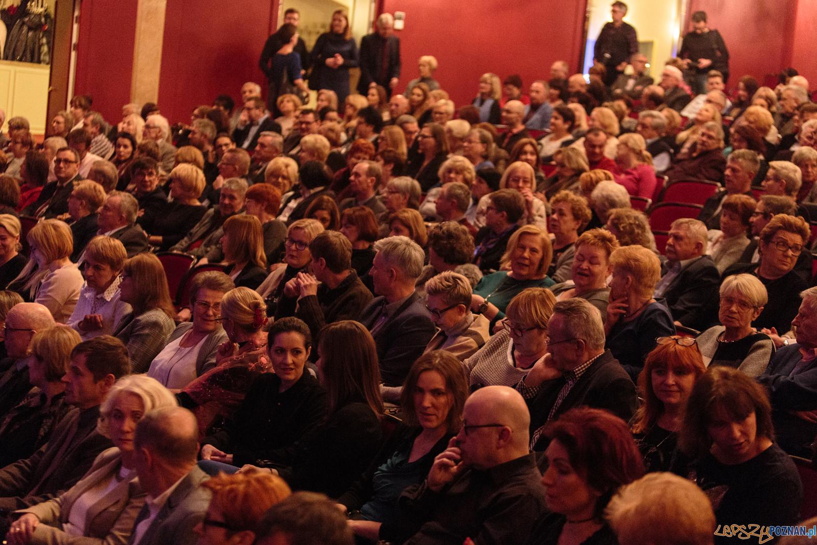 Hanna Banaszak w Teatrze Wielkim - Poznań 06.03.2018 r.  Foto: LepszyPOZNAN.pl / Paweł Rychter