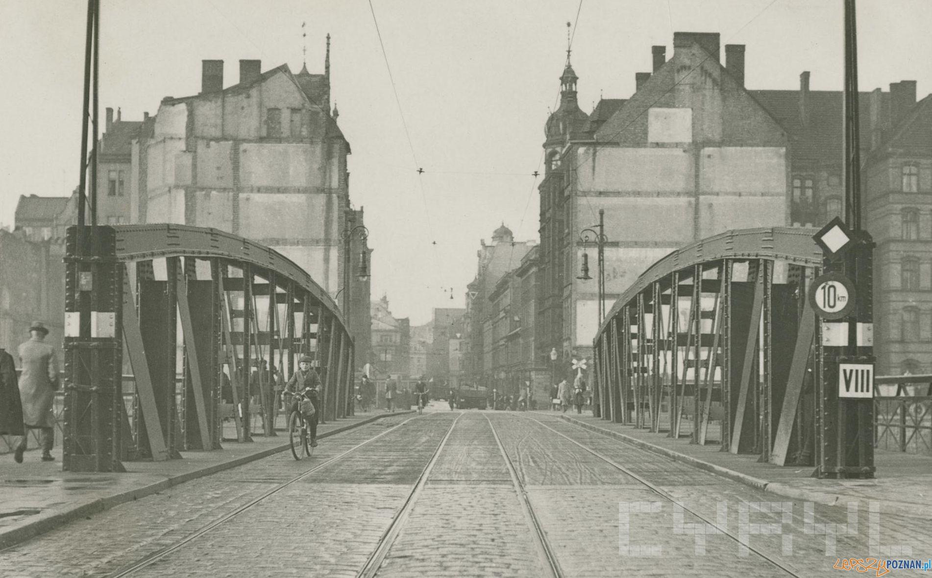 Most Chwaliszewski przed wojną  Foto: MKZ / Cyryl
