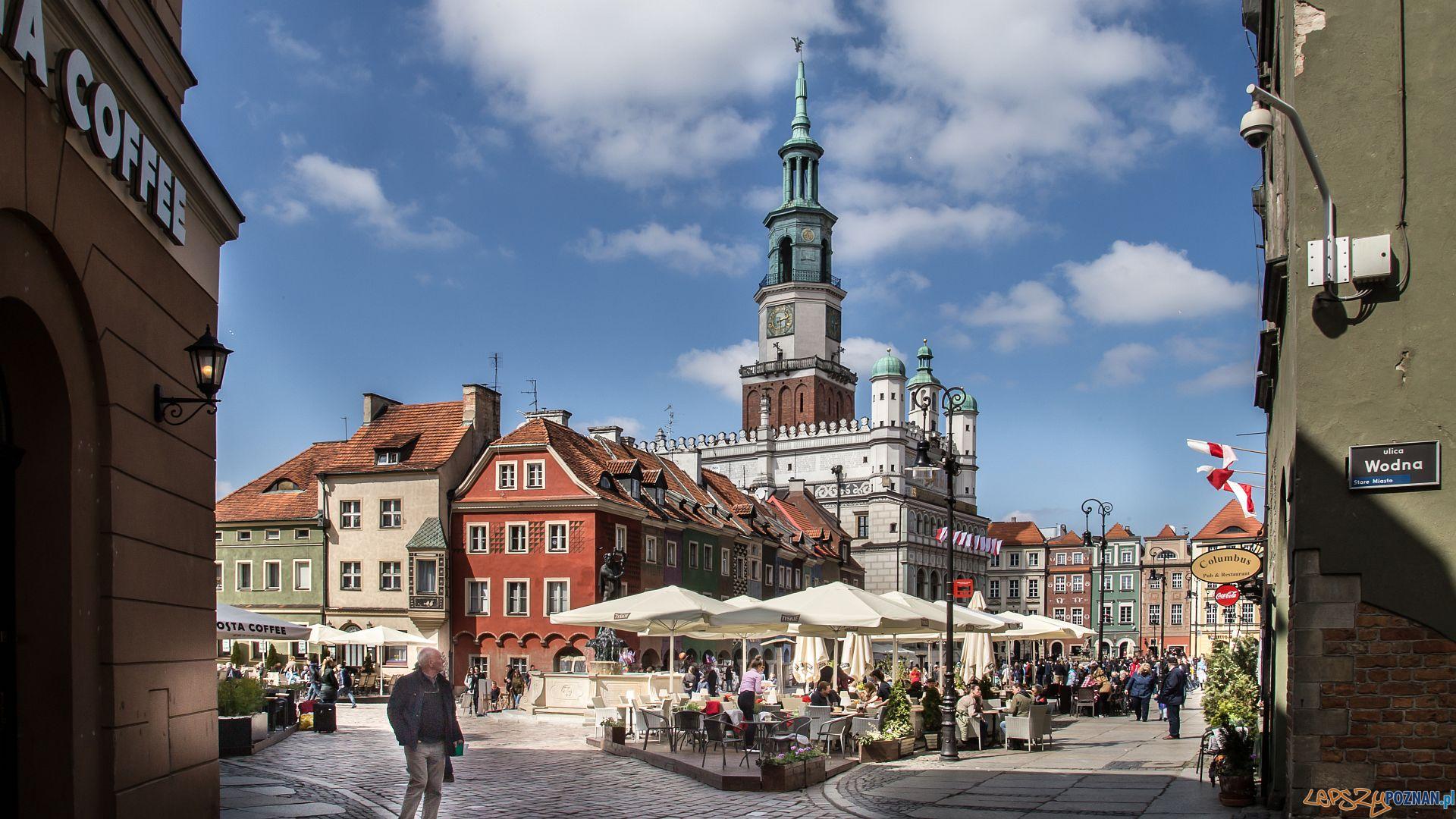 Poznań za pół ceny - Stary Rynek  Foto: Jakub Pińdych / PLOT