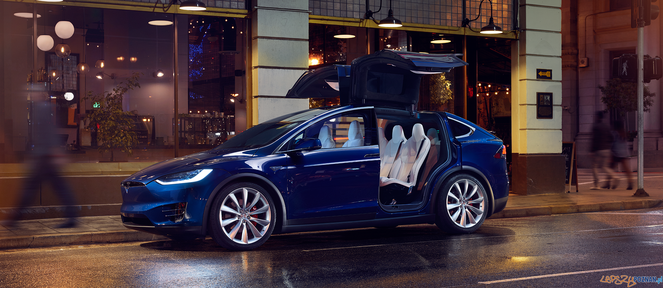Tesla Model X  Foto: MTP / materiały prasowe