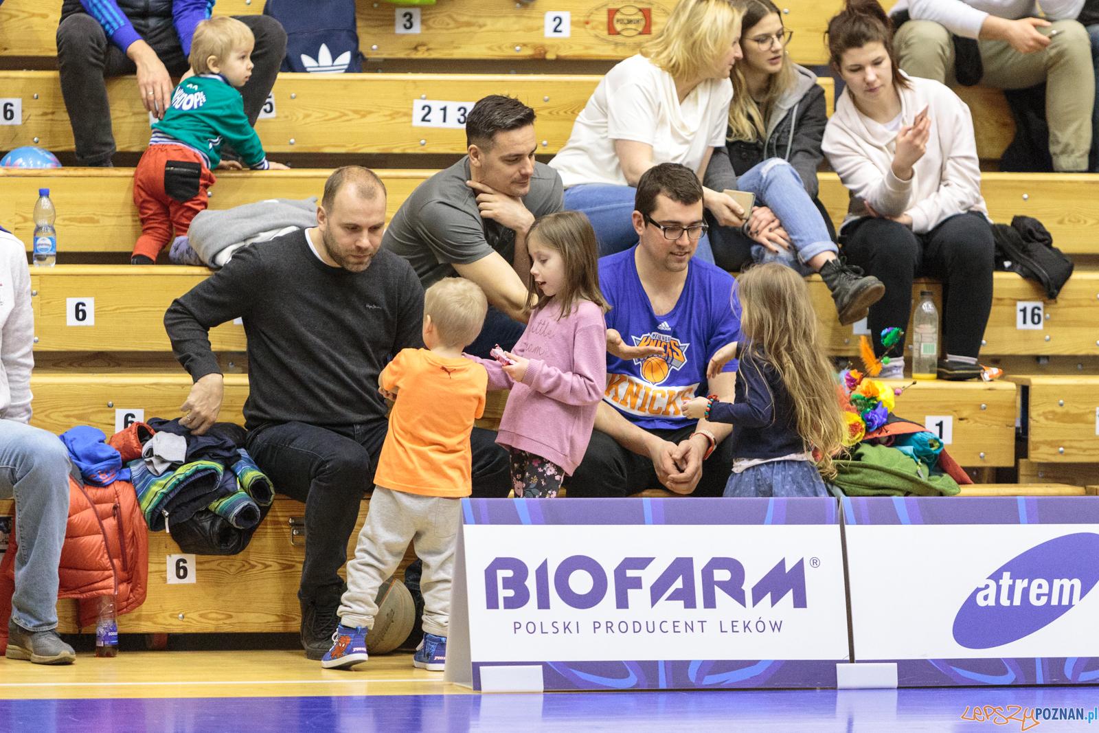 Biofarm Basket Poznań - Zetkama Doral Nysa Kłodzko 73:43 - Poz  Foto: LepszyPOZNAN.pl / Paweł Rychter