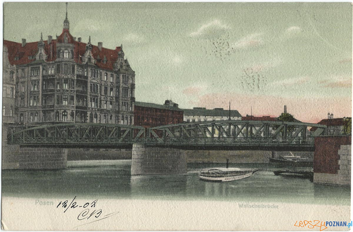 Most Chwaliszewski, początek XX wieku  Foto: wikipedia / CC