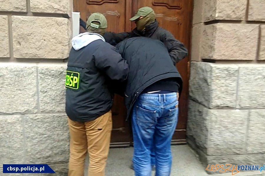 Narkotyki w ZK - akcja policji (6)  Foto: materiały Policji
