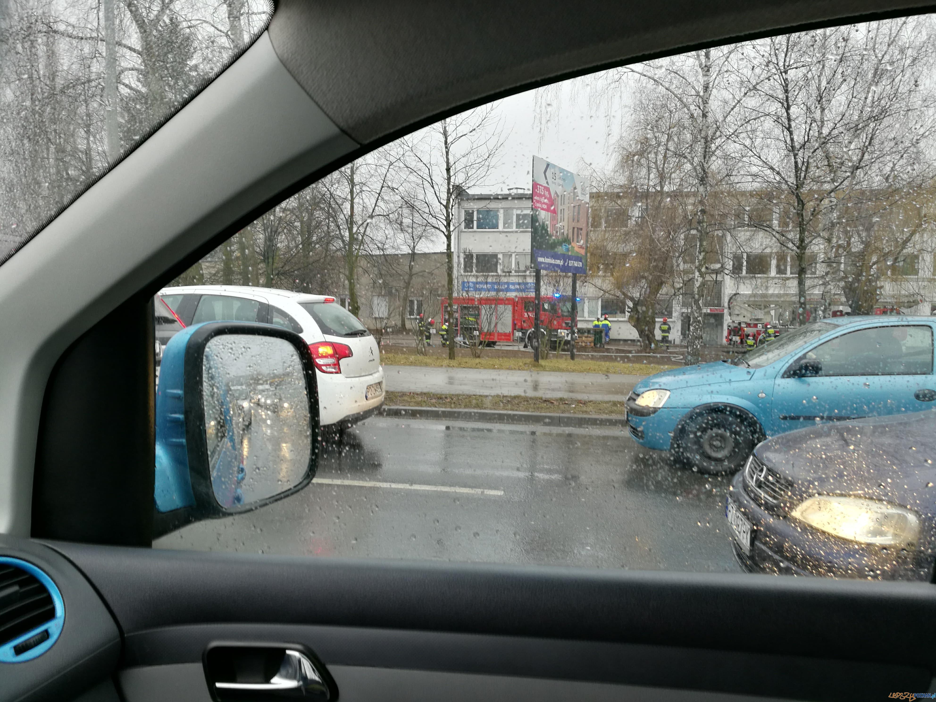 Pożar na Berdychowie  Foto: news@lepszypoznan.pl