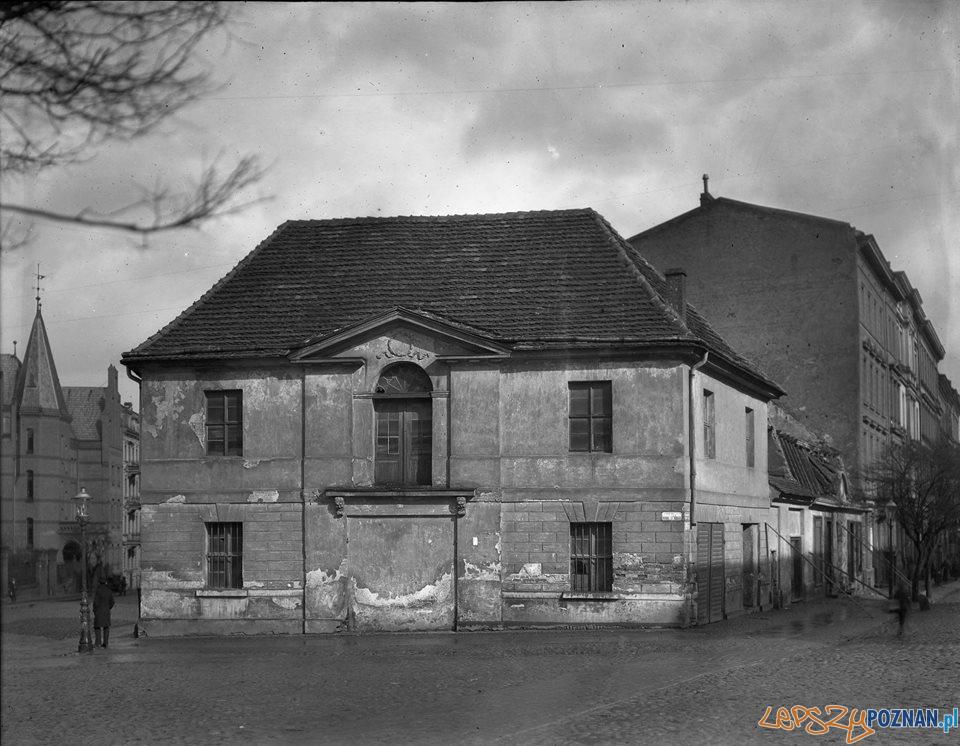 Plac Ratajskiego ok 1849 r.  Foto: Wielkopolski Urzad Ochrony Zabytkow