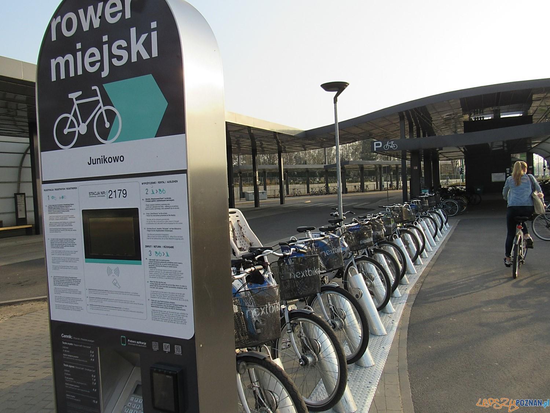 Poznański rower miejski stacja PRM Junikowo  Foto: Zarząd Transportu Miejskiego / materiały prasowe