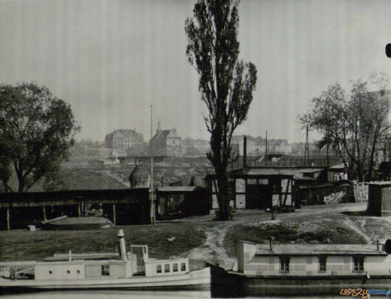 Śródka - widok z Szeląga - lata 30 XX wieku  Foto: Kolekcja Zakladu Gluchoniemych na Śródce / Cyryl