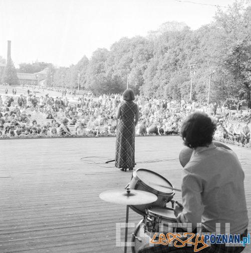 Park Wilsona - koncert 30 lat Gazeta Poznanska 10.05.75  Foto: Stanisław Wiktor / Cyryl