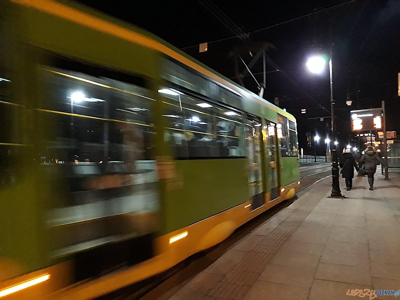 Tramwaj nocny  Foto: ZTM