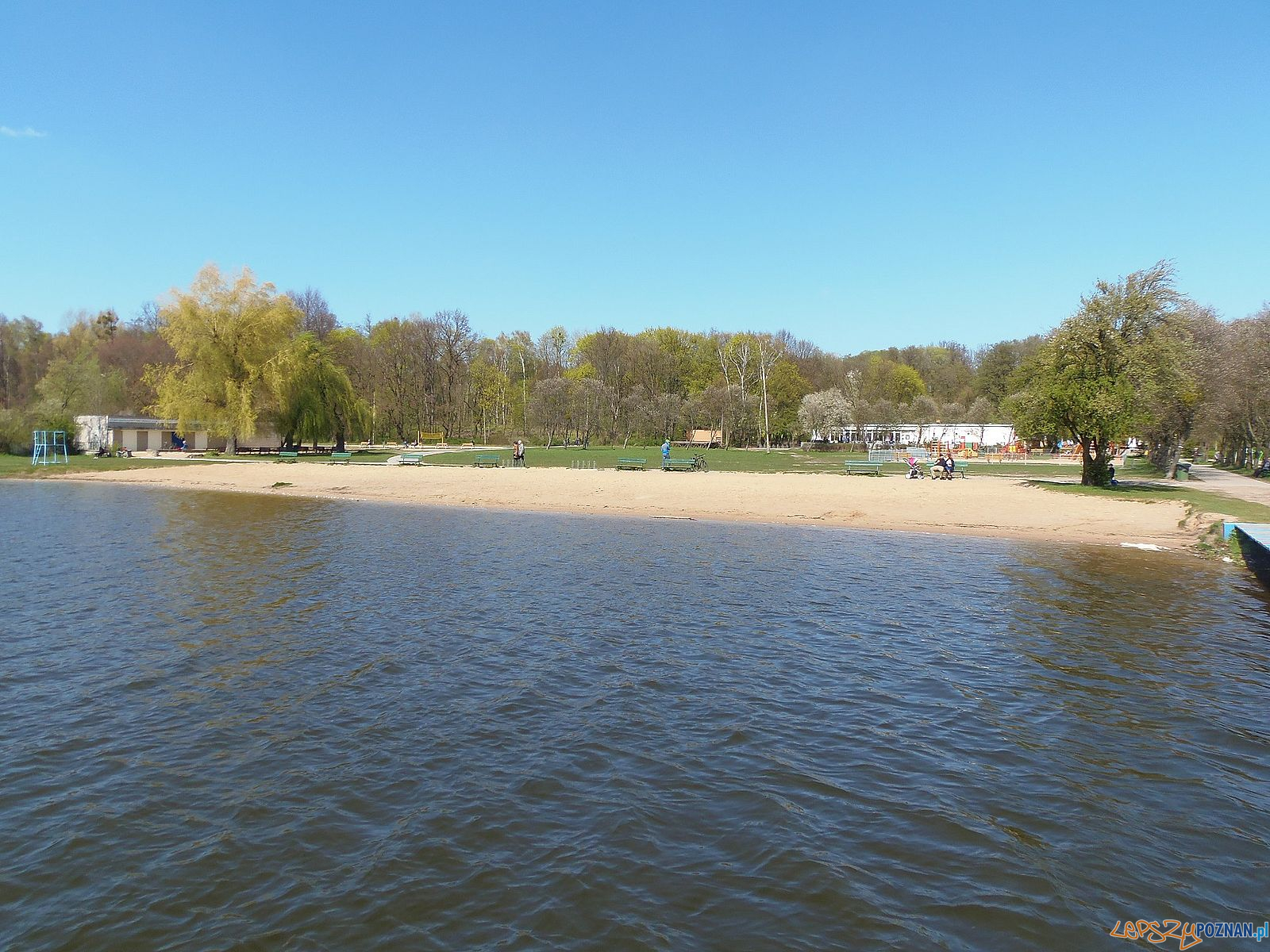 Rusałka - plaża  Foto: POSiR