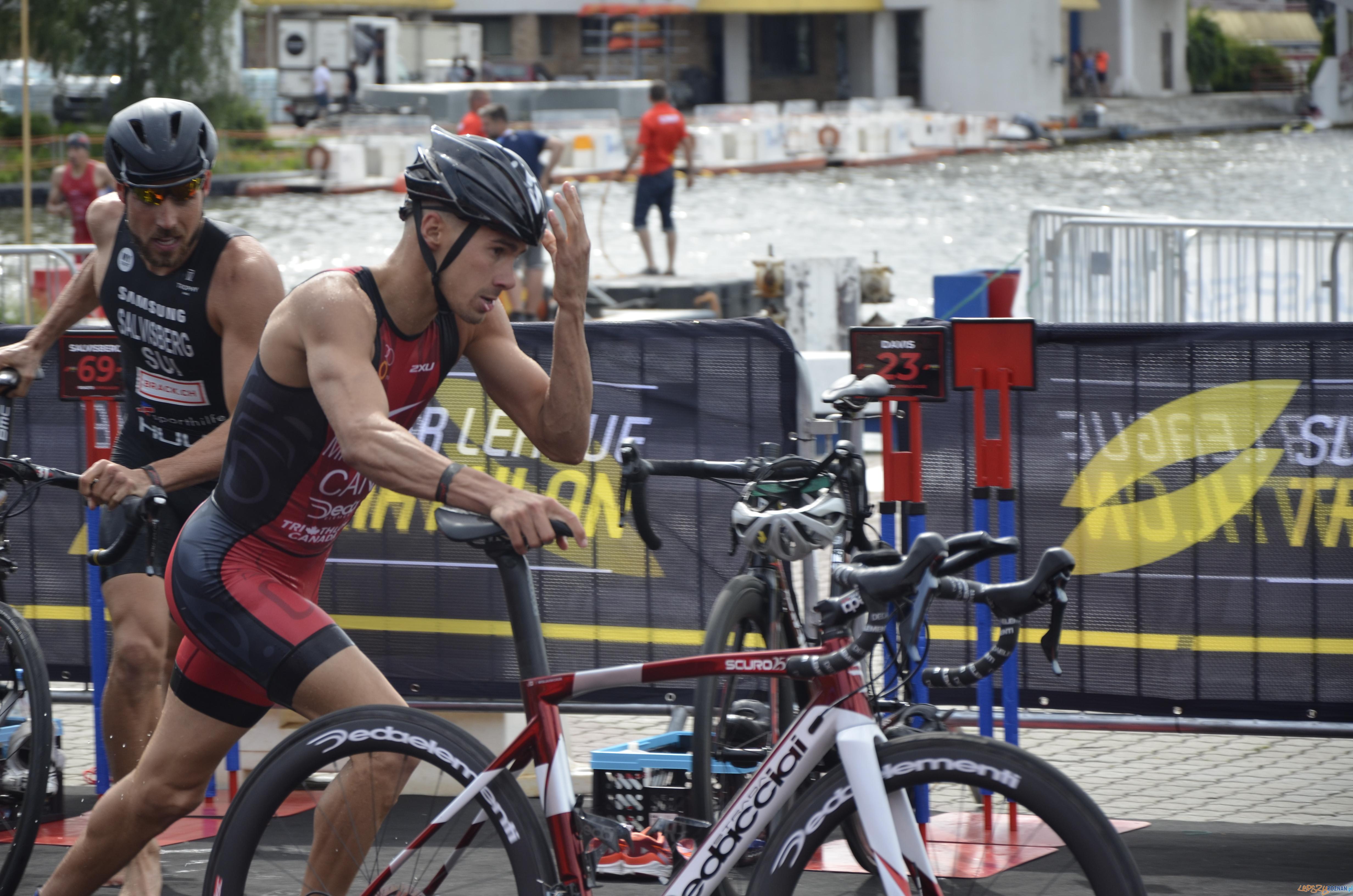 Super League Triathlon Poznań  Foto: materiały prasowe